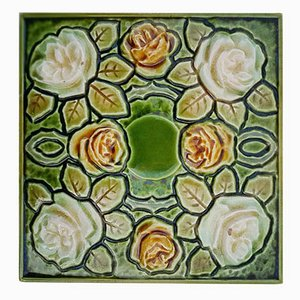 Art Deco Glazed Tile, 1920s