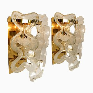 Austrian Model Catena Sconces by J.T. Kalmar, 1960s, Set of 2