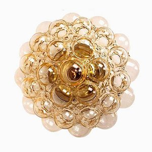 Amber Bubble Sconce by Helena Tynell, 1960s