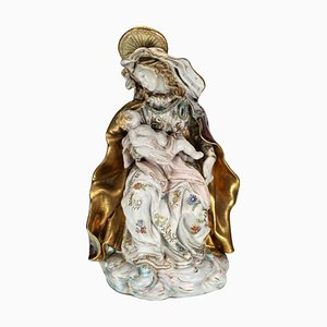 Vierge à l'Enfant par Capodimonte, 1920s