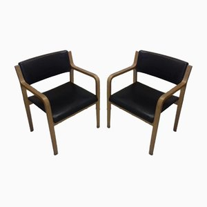 Armchairs by Ludvik Volak, 1960s, Set of 2