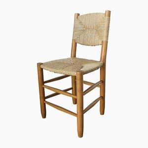 Chaise d'Appoint Modèle 19 Bauche par Charlotte Perriand pour Steph Simon, 1950s