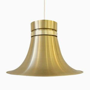 Trumpet Ceiling Lamp by Carl Thore / Sigurd Lindkvist for Granhaga Metallindustri, 1970s