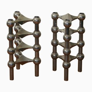 Modular Candleholders from Nagel, 1970s, Set of 8