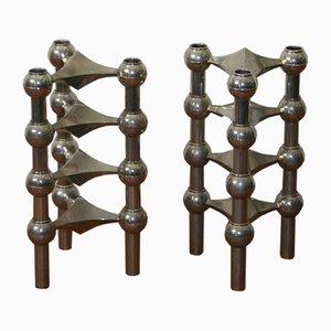 Modulare Kerzenhalter von Nagel, 1970er, 8er Set