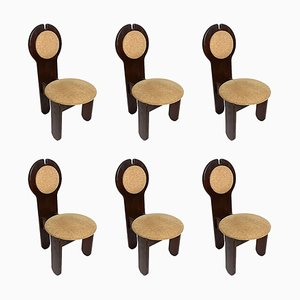 Vintage Dining Chairs by Maria Szedleczky, 1970s, Set of 6