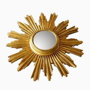 Mid-Century Sunburst Mirror