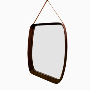Italienischer Spiegel im Stil von Paolo Buffa, 1960er