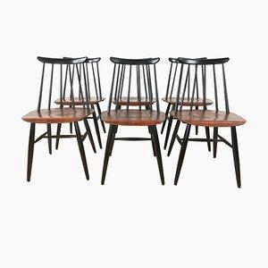 Chaises de Salon par Ilmari Tapiovaara pour Asko, 1960s, Set de 6