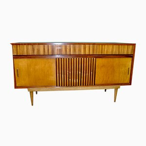 French Sheet Metal Sideboard, 1960s