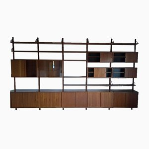 Mid-Century Wall Unit by Poul Cadovius, 1960s