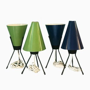 Mid-Century Tripod Table Lamp, 1950s