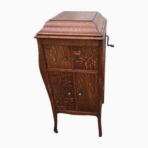 Gramophone vintage in cabinet di Jupiter Mark Bevete, anni '20