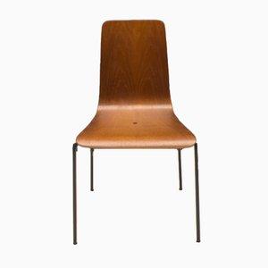 Chaise de Salon Scandinave en Teck Contreplaqué, 1960s