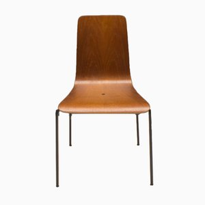 Scandinavian Teak Plywood Dining Chair, 1960s