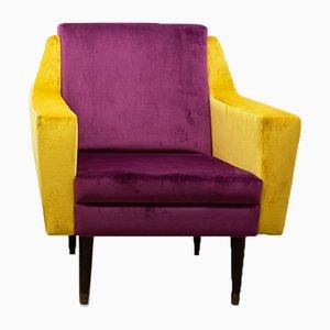 Italienischer Kubistischer Sessel, 1960er