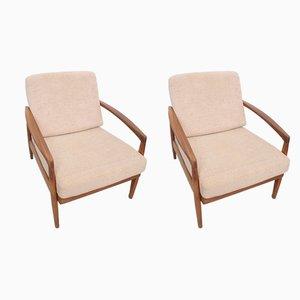 Dänische Mid-Century Sessel aus Teak, 1960er, 2er Set