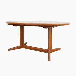Mid-Century Teak Extendable Dining Table from Skovby, 1960s