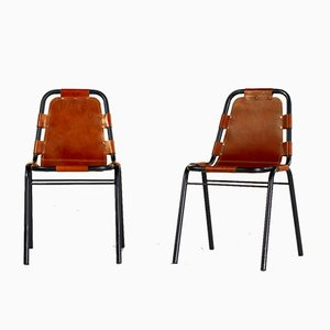 Lec Arcs Dining Chairs by Charlotte Perriand, 1960s, Set of 2