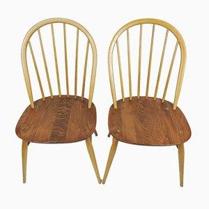 Chaises de Salon Windsor Vintage par Lucian Ercolani pour Ercol, Set de 4