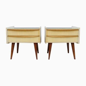 Tables de Chevet, Allemagne, 1950s, Set de 2