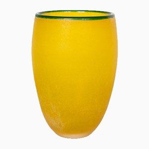 Vase Vintage en Verre de Murano par Franco Moretti, 1980s