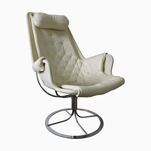 Vintage White Jetson Armchair by Bruno Mathsson for Dux