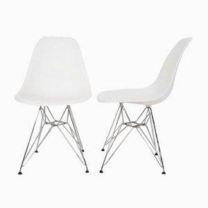 Modell DMX Esszimmerstühle von Charles And Ray Eames für Vitra, 2008, 2er Set