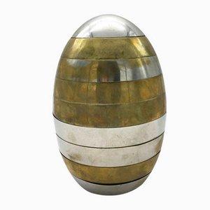 Stapelbare Vintage Eierschalen Schale von Tommaso Barbi, 1970er