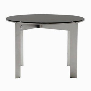Joined Ro34.4 Stainless Steel Side Table With Mirror Top by Barh
