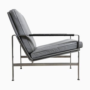 Modernism FK 6720 Lounge Chair by Preben Fabricius for Kill International, 1968