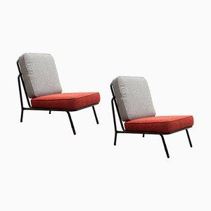 Belgische Patio Stühle von Tubax, 1960er, 2er Set