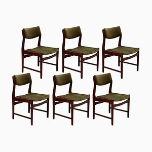 Belgian Dining Chairs from De Coene, 1971, Set of 6