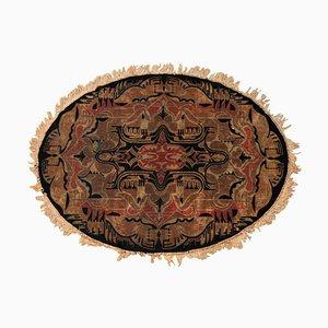 Antikes niederländisches Art Nouveau Samt Stoff
