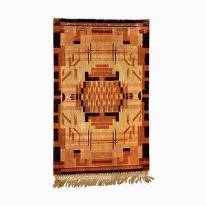 Art Deco Velvet Tapestry, 1920s