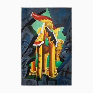 The Tempel Gemälde von Cesar Bailleux, 1989