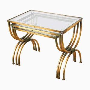 French Neo-Classical Nesting Tables, 1950s