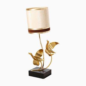 Brass Flying Birds Table Lamp, 1970s