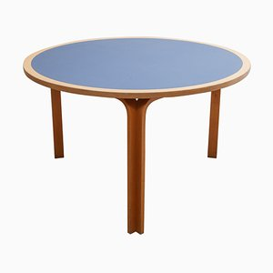 Danish Round Dining Table by Rud Thygesen & Johnny Sørensen for Magnus Olesen, 1970s
