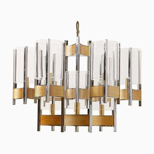 Whimsical Sculptural Chandelier from Sciolari, 1960s