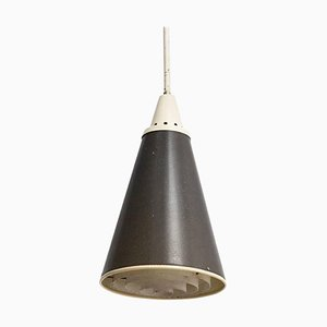 Dutch Metal Perfolux Pendant Lamp by Niek Hiemstra for Hiemstra Evolux, 1952