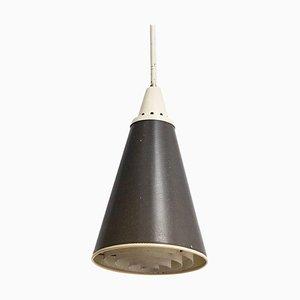 Lampe à Suspension Perfolux en Métal par Niek Hiemstra pour Hiemstra Evolux, Pays-Bas, 1952