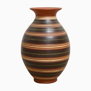 Vase Fait Main en Céramique, Allemagne, 1957