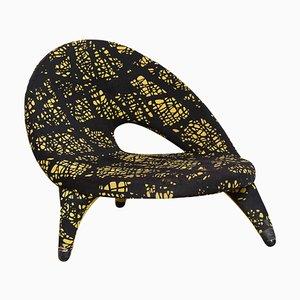 Swedish Arabesque Organic Shape Chair by Folke Jansson for SM Wincrantz, 1950s