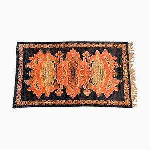 Antiker niederländischer Jugendstil Teppich aus Samt
