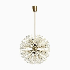 Flower Sputnik Chandelier by Emil Stejnar for Rupert Nikoll, 1950s