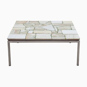 Mosaik Marmor Beistelltisch, 1960er