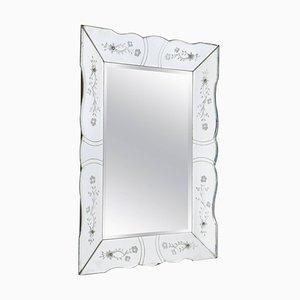 Französischer Vintage Spiegel, 1940er