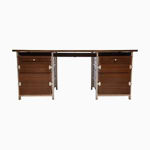 Belgian Rosewood Cabinet by Jules Wabbes for Atelier Bergwood, 1968