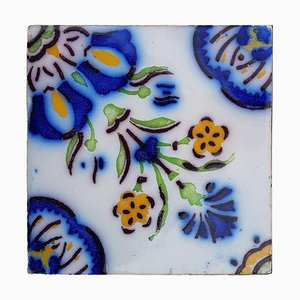 Antique French Handmade Ceramic Tiles by Devres, 1910s, Set of 410